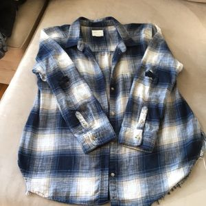 American Eagle oversized Flannel Shirt